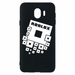Чехол для Samsung J4 Roblox logos