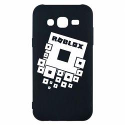 Чехол для Samsung J5 2015 Roblox logos