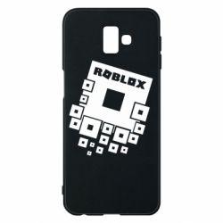 Чехол для Samsung J6 Plus 2018 Roblox logos