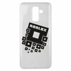 Чехол для Samsung J8 2018 Roblox logos