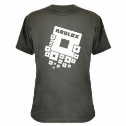Камуфляжная футболка Roblox logos