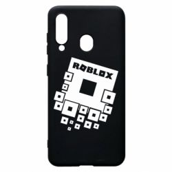 Чехол для Samsung A60 Roblox logos