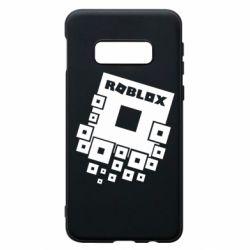 Чехол для Samsung S10e Roblox logos