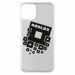 Чехол для iPhone 11 Roblox logos