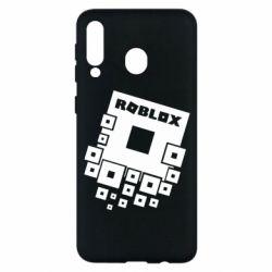 Чехол для Samsung M30 Roblox logos