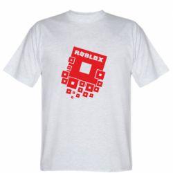 Мужская футболка Roblox logos