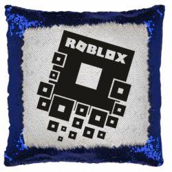 Подушка-хамелеон Roblox logos