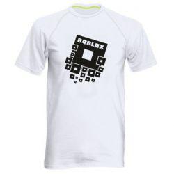 Мужская спортивная футболка Roblox logos