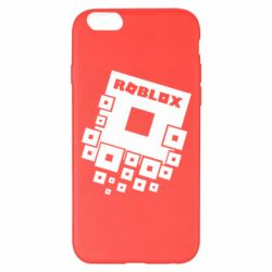 Чехол для iPhone 6 Plus/6S Plus Roblox logos