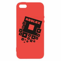 Чехол для iPhone5/5S/SE Roblox logos