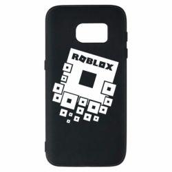 Чехол для Samsung S7 Roblox logos