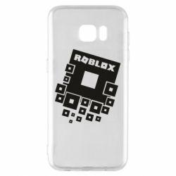 Чехол для Samsung S7 EDGE Roblox logos