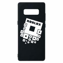 Чехол для Samsung Note 8 Roblox logos