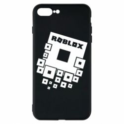 Чехол для iPhone 8 Plus Roblox logos