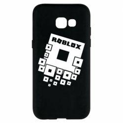 Чехол для Samsung A5 2017 Roblox logos