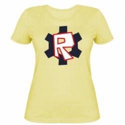 Жіноча футболка Roblox mini logo