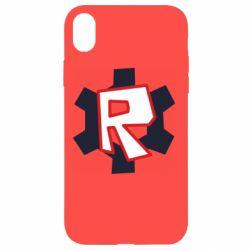 Чохол для iPhone XR Roblox mini logo