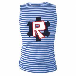 Майка-тільняшка Roblox mini logo