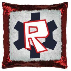 Подушка-хамелеон Roblox mini logo