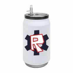 Термобанка 350ml Roblox mini logo