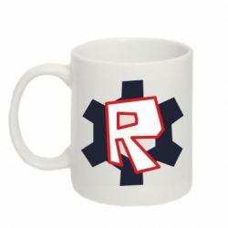 Кружка 320ml Roblox mini logo