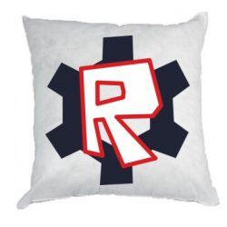 Подушка Roblox mini logo