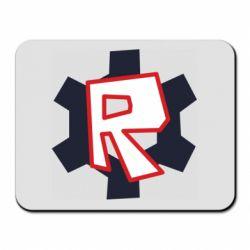 Килимок для миші Roblox mini logo
