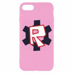 Чохол для iPhone 7 Roblox mini logo