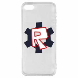 Чохол для iphone 5/5S/SE Roblox mini logo