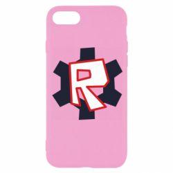 Чохол для iPhone 8 Roblox mini logo