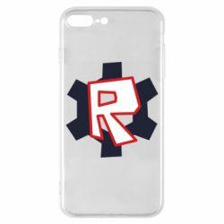 Чохол для iPhone 8 Plus Roblox mini logo