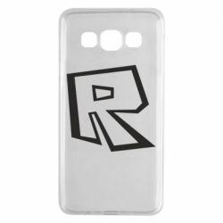 Чохол для Samsung A3 2015 Roblox minimal logo