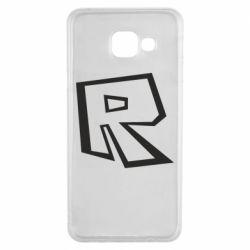 Чохол для Samsung A3 2016 Roblox minimal logo