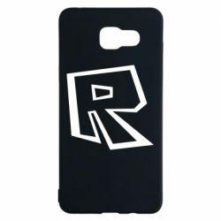 Чохол для Samsung A5 2016 Roblox minimal logo