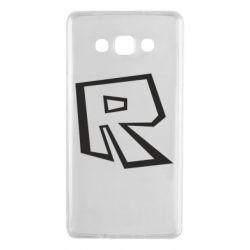 Чохол для Samsung A7 2015 Roblox minimal logo