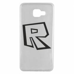 Чохол для Samsung A7 2016 Roblox minimal logo