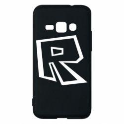 Чохол для Samsung J1 2016 Roblox minimal logo