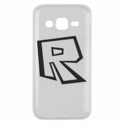 Чохол для Samsung J2 2015 Roblox minimal logo