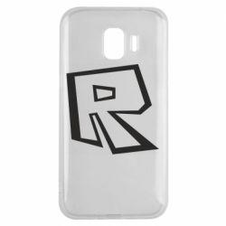 Чохол для Samsung J2 2018 Roblox minimal logo