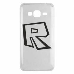 Чохол для Samsung J3 2016 Roblox minimal logo