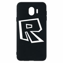 Чохол для Samsung J4 Roblox minimal logo