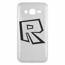 Чохол для Samsung J5 2015 Roblox minimal logo