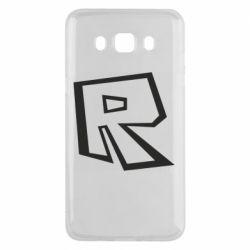 Чохол для Samsung J5 2016 Roblox minimal logo