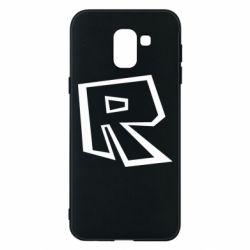 Чохол для Samsung J6 Roblox minimal logo