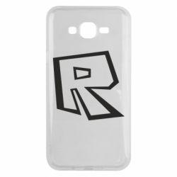 Чохол для Samsung J7 2015 Roblox minimal logo