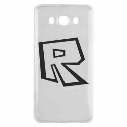 Чохол для Samsung J7 2016 Roblox minimal logo