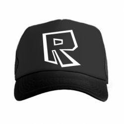Кепка-тракер Roblox minimal logo