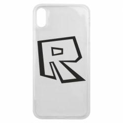 Чохол для iPhone Xs Max Roblox minimal logo