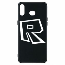 Чохол для Samsung A6s Roblox minimal logo