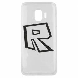 Чохол для Samsung J2 Core Roblox minimal logo